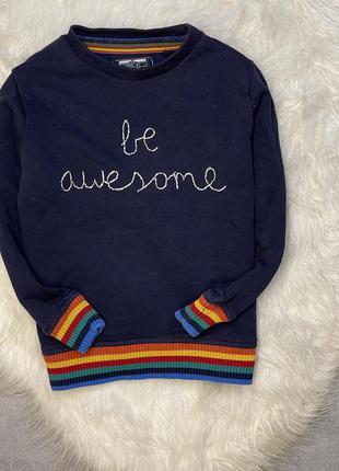 Свитшот свитер next 4-5 лет