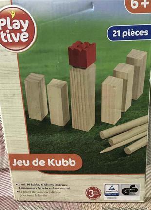 Игра для всей семьи городки play tive