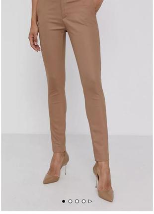 Розовые класические брюки дорогого бренда mos mosh