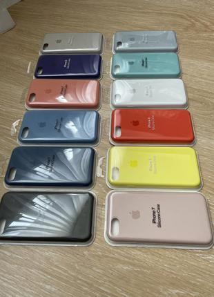 Силиконовой чехол для apple iphone 7/8 silicone case