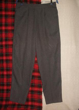 Удобные зауженные брюки st.michael карманы резинка