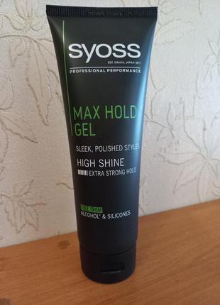 Гель для укладки волосся syoss