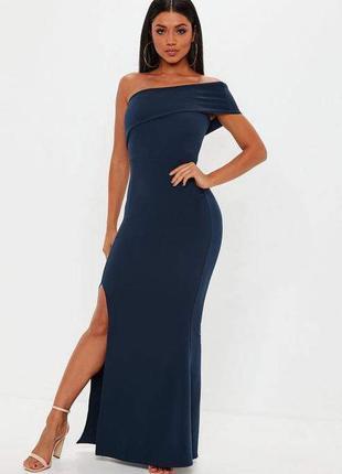 Макси платье с разрезом
