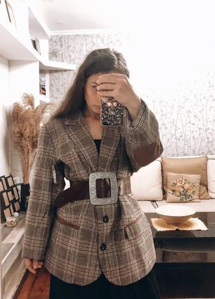Шикарный тёплый петжак пальто качество шик