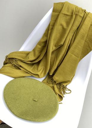 Кашеміровий шарф /палантин ❤️🍁