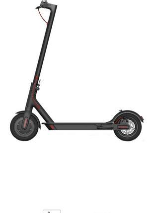 Электросамокат xiaomi mi electric scooter black