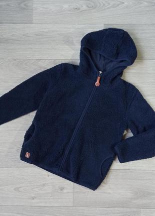Куртка ветровка теплая толстовка худи кофта поддева cool club 128