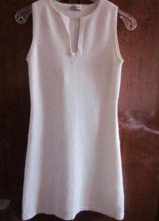 В наличии кашемировое платье daniela fargion размер xs. италия 100% кашемир