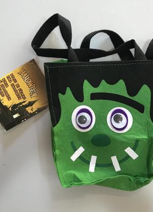 Тематический аксессуар фетровая  сумка на хэллоуин