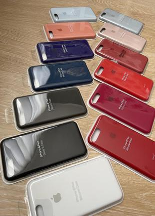 Силиконовый чехол для iphone айфон 7 plus/8plus