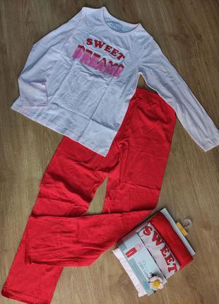 Пижама, домашний костюм для девочки, primark