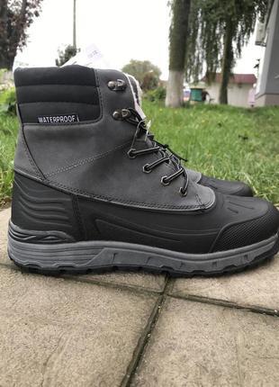 Ботинки трекинговые утепленные waterproof