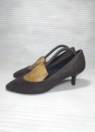 Туфельки на низком каблучке в леопардовый принт 👠👠👠