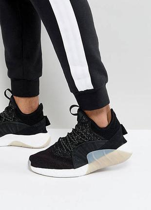Черные кроссовки adidas originals tubular rise by3554