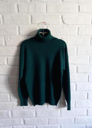 Шикарный кашемировый свитер с высоким горлом bongenie grieder