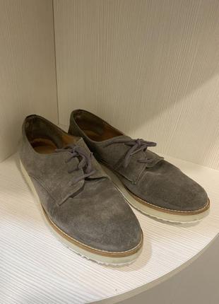 Замшеві туфлі, оксфорди