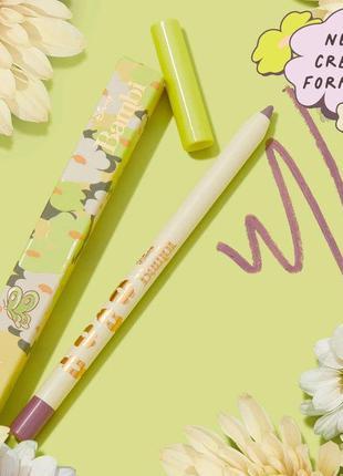 Гелевый карандаш colourpop purty linercrème gel liner matte plum