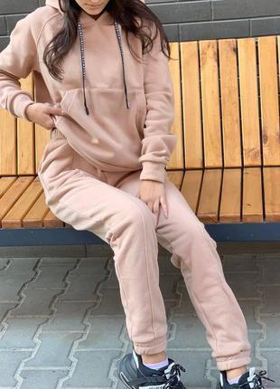 Тёплый прогулочный костюм