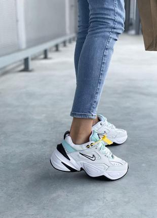 Nike m2k tekno 🍏 стильные женские кроссовки найк техно