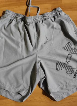 Тонкие мужские шорты under armour xl оригинал