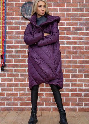 Довга куртка з капюшоном