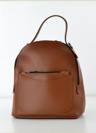 Рюкзак сумка трансформер жіночий теракотовий женский терракотовый
