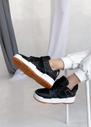 Nike dunk low 🍏 стильные женские кроссовки найк