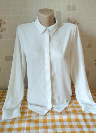 Белая блуза atmosphere