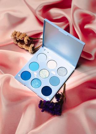 Палетка теней on cloud blue colourpop тени для век колорпоп колор поп colour pop