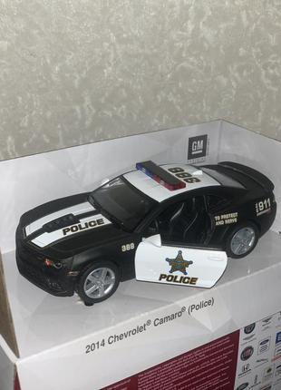 Металева машина kinsmart 2014 chevrolet camaro (police)