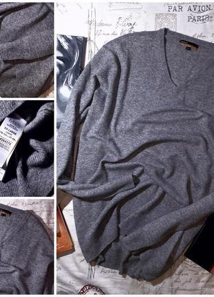 Пуловер 💯 кашемир m&s (xxl) не ношенный
