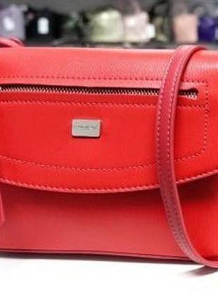 Сумка кросс-боди, сумочка david jones, клатч женский, квадратная сумка