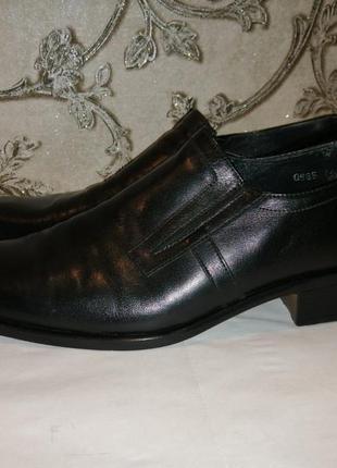Туфли мужские, кожа, 44 размер