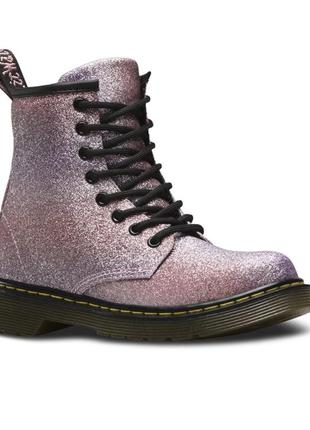 Черевики ботинки dr.martens delaney pink glitter boot - 38 - 24.5 см