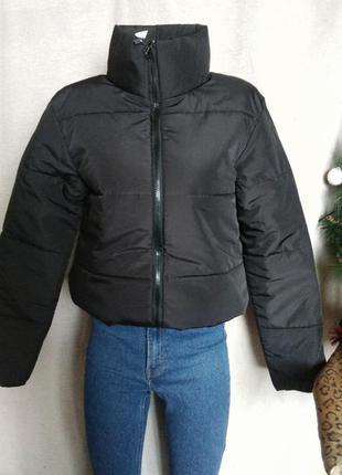 Крутая куртка, дутая куртка, чёрная куртка