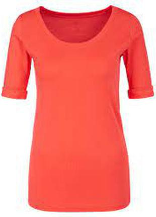 Коралловая футболка marc cain