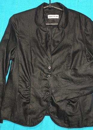 Gerry weber льняной пиджак на подкладке.