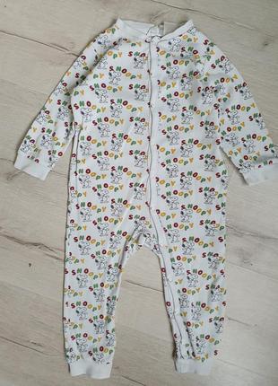 Слип пижама со снупи snoopy h&m