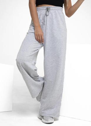 Серенькие штанишки 100% котон от f&f.