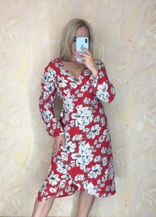 Красивое платье на запах