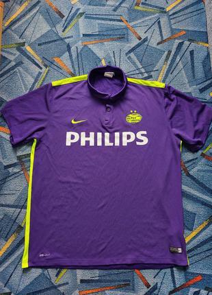 Футбольная футболка nike philips psv