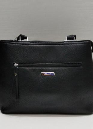 Женская сумка (черная) 21-09-020