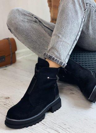 Ботинки зимние женские новые в наличии