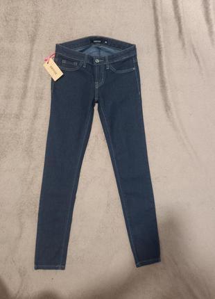 Женские штаны джинсы суперстрейч