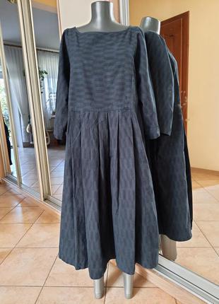 💯% котоновое с карманами платье 👗большого размера