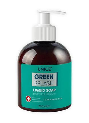 Жидкое мыло green splash 300мл
