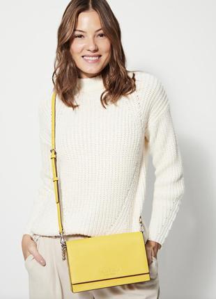Желтая сумка kate spade cameron