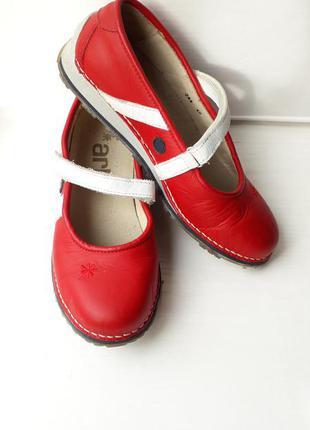 Брендовые кожаные туфли art