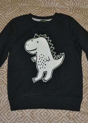 Свитшот свитер george 3-4 года рост 98-104 англия