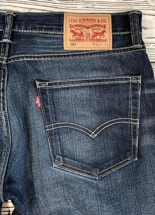 Levi's 504 джинсы